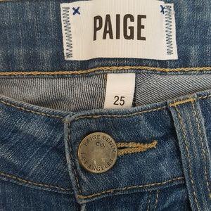 PAIGE Jeans - Paige Verdugo Crop Skinny Jeans Lightwash 25